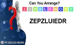 jumble word puzzle