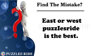 Sily Mistake puzzle English