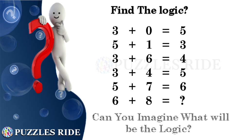 Find The Logic Of The Mathematical Puzzle