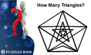 how many triangles logical puzzles