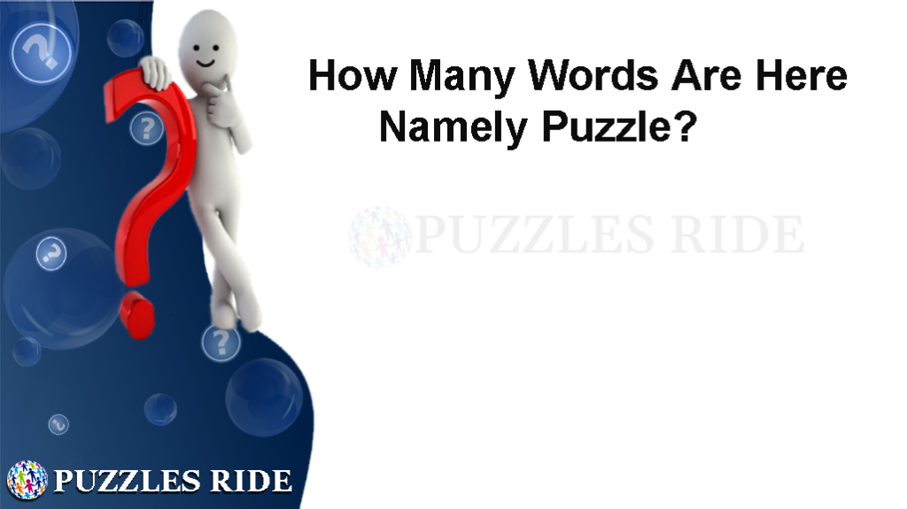 How many Words Are here Namely Puzzle?