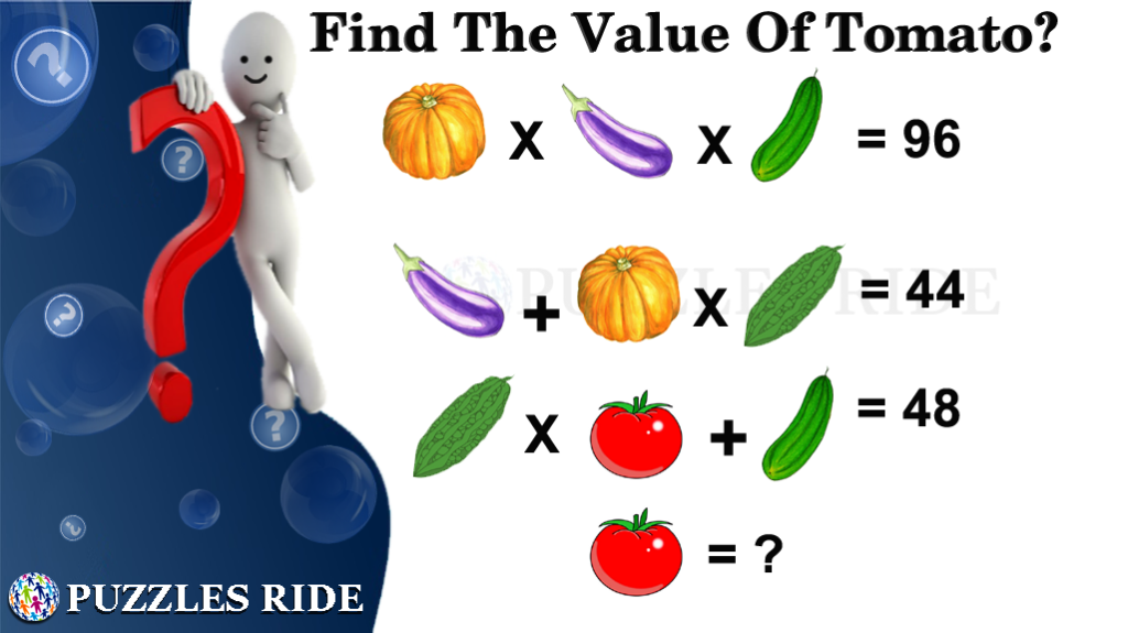 Crazy Vegetable Picture Math For Kids