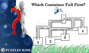 Which Water Container Full First