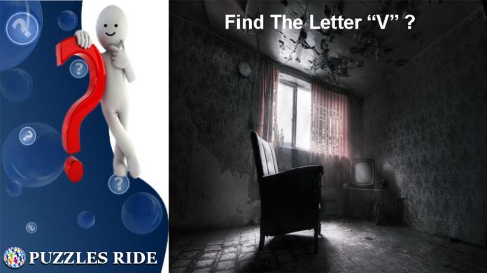 Find The Letter V Eye -Q Test