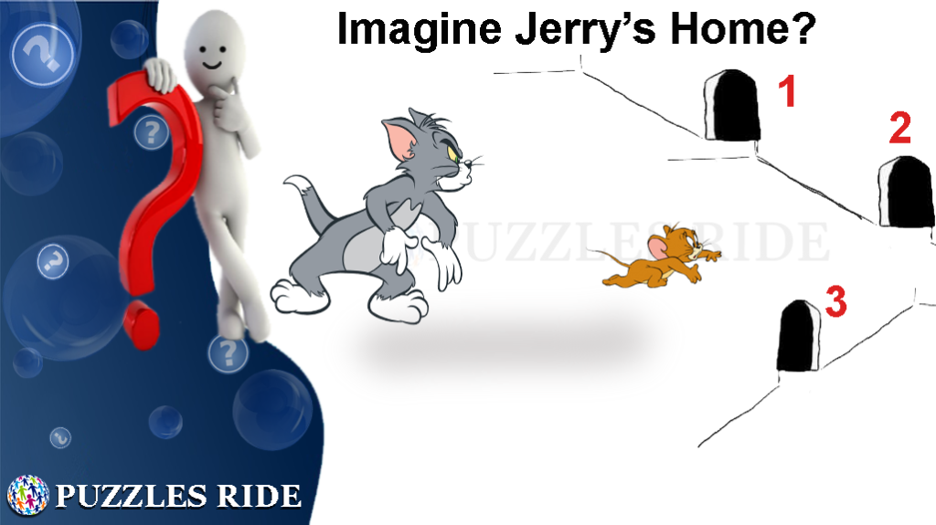 Find Jerry's Home While Tom Attack